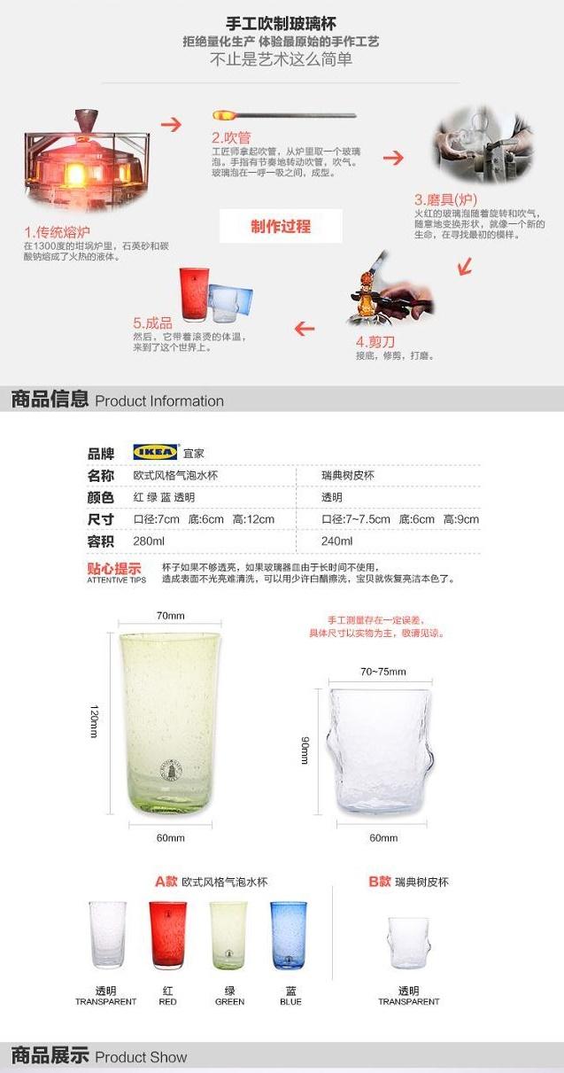 水杯淘宝详情页设计