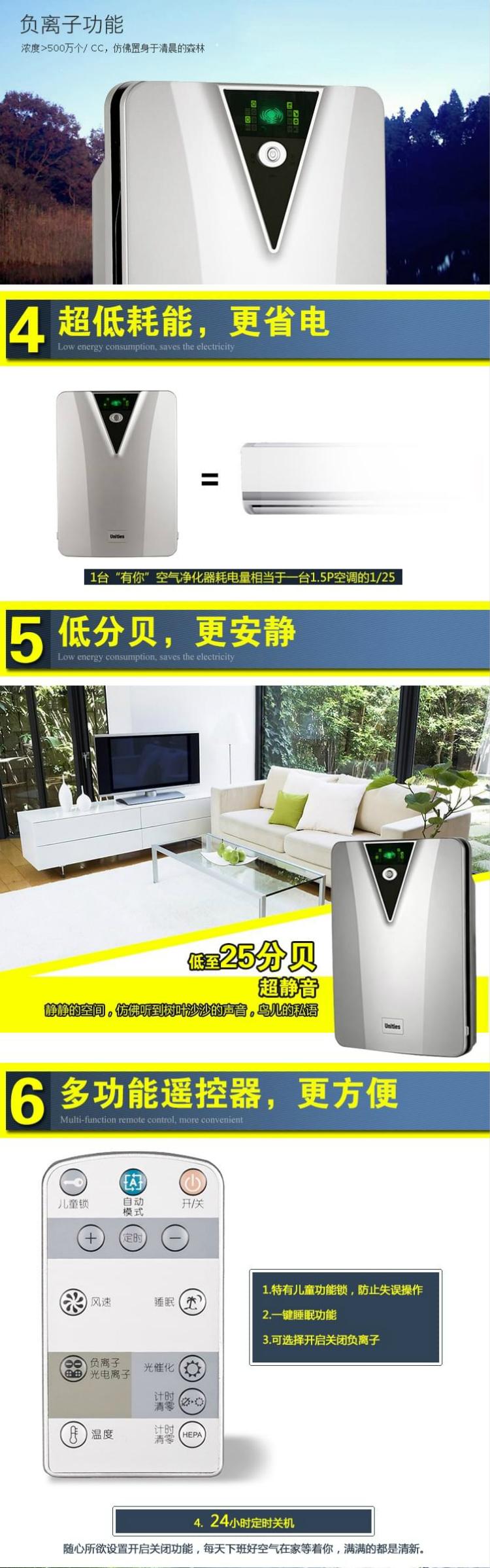 空气净化器淘宝详情页设计3
